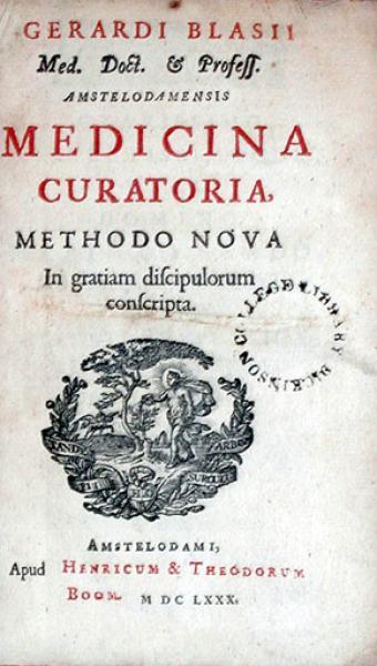 Medicina Curatoria Methodo Nova In gratiam discipulorum conscripta