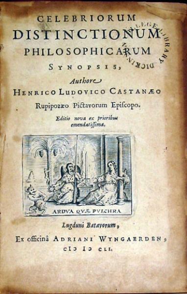 Celebriorum Distinctionum Philosophicarum Synopsis...
