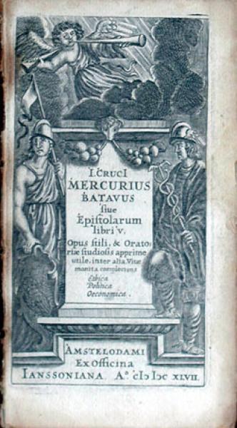 Mercurius Batavus siue Epistolarum libri V