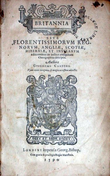Britannia sive Florentissimorvm Regnorvm, Angliae, Scotiae, Hiberniae...