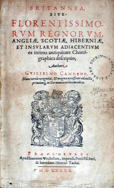 Britannia; .Nunc tertiò recognita, & magna accessione adaucta...