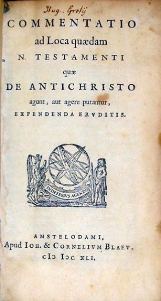 Commentatio ad Loca quaedam N. Testamenti quae De Antichristo agunt...