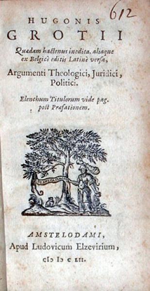 Argumenti Theologici, Juridici, Politici