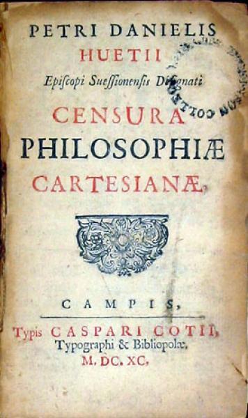 Censura Philosophiae Cartesianae