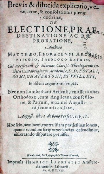 Brevis & dilucida explicatio, verae, certae, & consolationis plenae doctrinae...