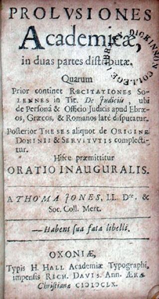 Prolvsiones Academicae, in duas partes distributae...